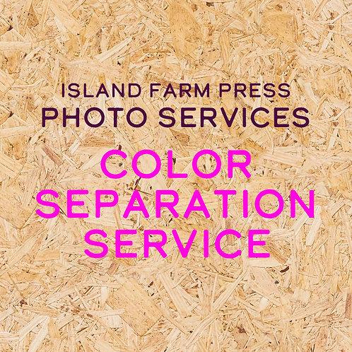 Color Separation Service