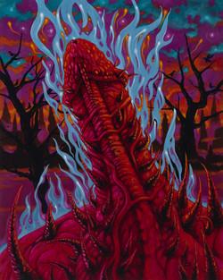 Satan's Hot, Burning Cock