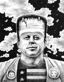 Johnny Frankenstein (sold-prints availab