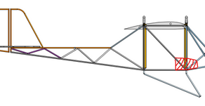 Fuselage April-May Truss Frame Revisions and Inspiration