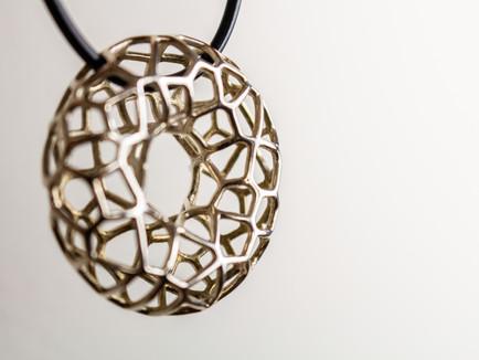 Voronoi Necklace