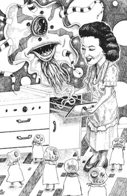 And She Cooks, Too! (sold- prints availa