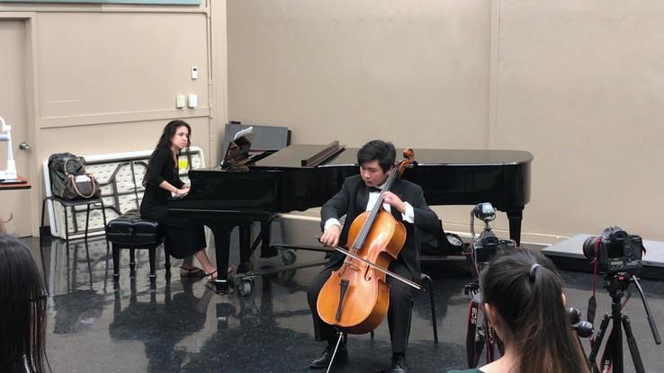 Saint Saens Cello Concerto Mov 1