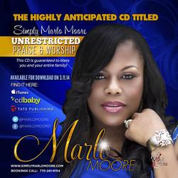 National CD Release Flyer
