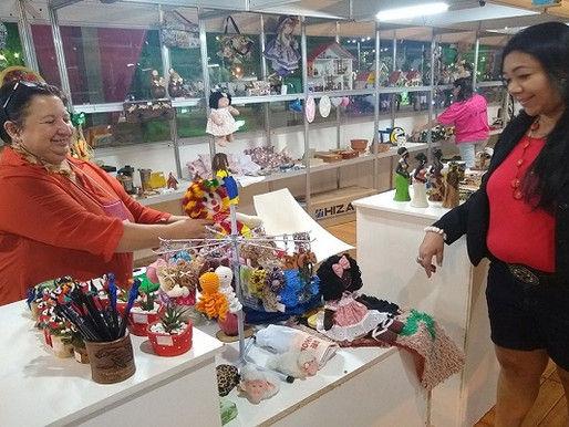 Artesanato –  Obras dos artistas da Praça dos Artesãos se destacam em Bonito