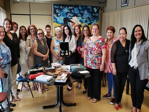 Cultura – Academia Feminina de Letras e Artes instalada nesta terça-feira!