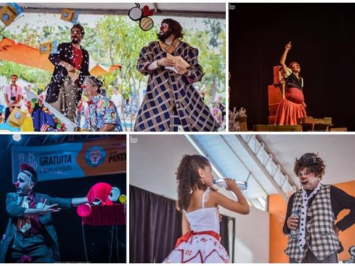Circo - Pantalhaços terá 19 espetáculos no início de julho