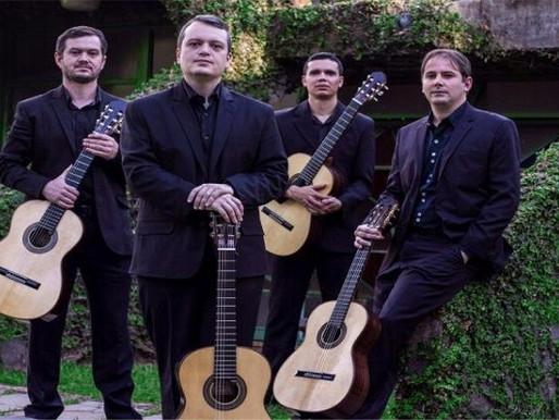 Música - Quarteto Toccata faz série de concertos em Asunción e no Rio de Janeiro