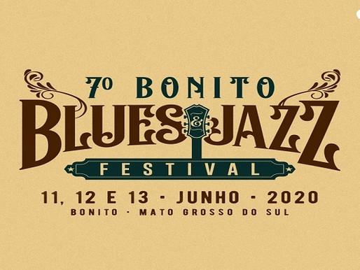 Evento –  7º Bonito Blues & Jazz Festival acontece em junho de 2020