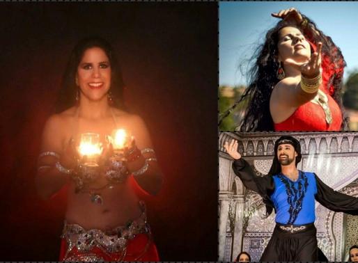 """Dança do Ventre – Espetáculo """"Luz da Alma"""" nesta sexta no Crea"""