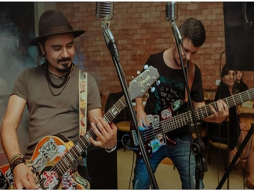 Evento – Sábado de blues, rock e música latina no Trem Mineiro!