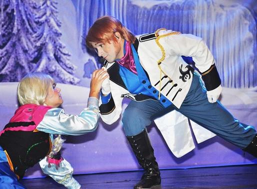 Teatro – Adaptação de Frozen, um musical congelante em março