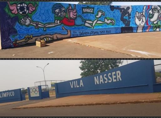 Opinião – Crime e ignorância em obra de arte na Vila Nasser!