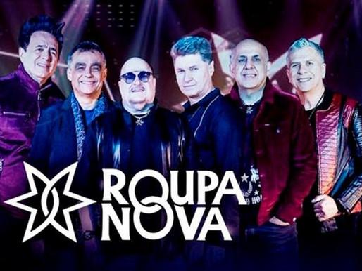 Show – Restam poucos ingressos para o show do Roupa Nova nesta sexta