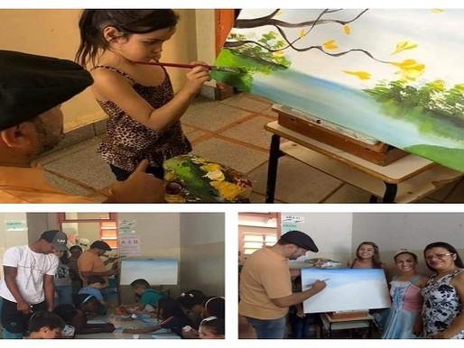 Arte – Escola Heitor Castoldi dá exemplo de valorização cultural