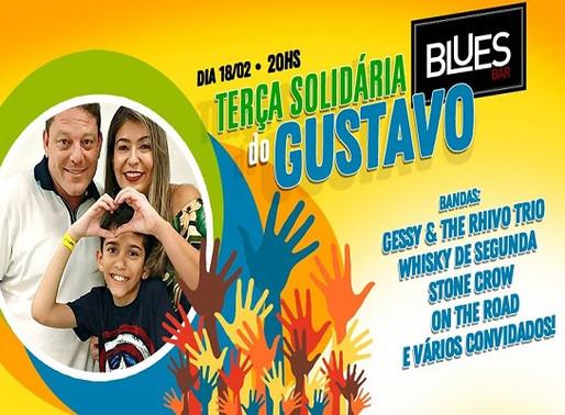 Blues Bar – Músicos se unem em solidariedade a Gustavinho