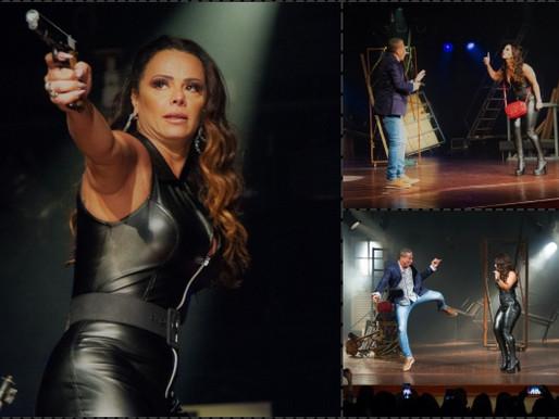 Teatro - Viviane Araújo e Eri Johnson dia 9 no Palácio Popular