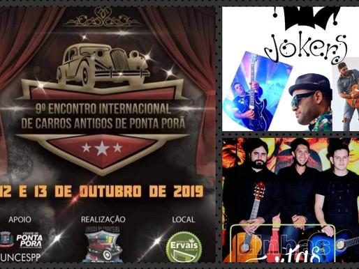 Evento – Encontro de Carros Antigos e shows de rock em Ponta Porã