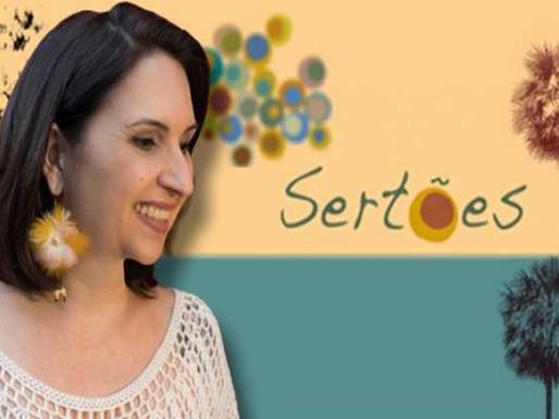 """Show – Maria Alice leva seu """"Sertões"""" nesta sexta-feira no Sesc Morada dos Baís"""
