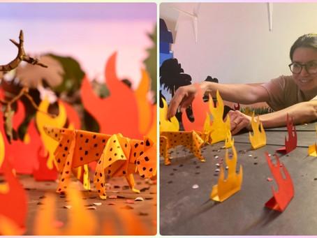 Cinema - Curta em stop motion aborda incêndios no Pantanal