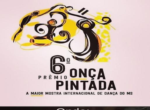 Dança - Prêmio Onça Pintada e Mostra do MS acontece em Setembro