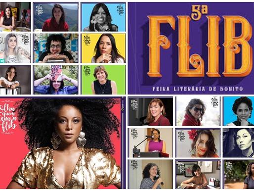 FLIB 2019 – Bonito a partir desta quarta é a Capital da Literatura Feminina
