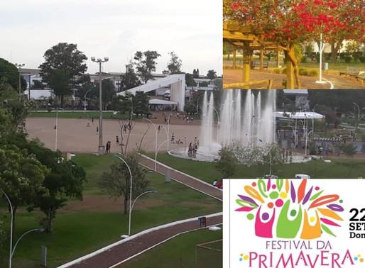 Ponta Porã – Festival da Primavera com atrações culturais neste domingo
