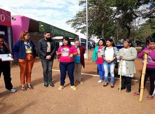 Artesanato –  Obras indígenas fazem sucesso na Tenda dos Saberes no FIB