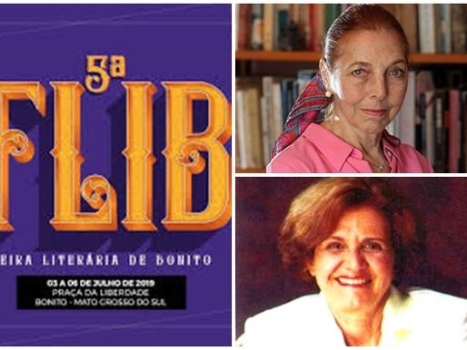 Literatura – Colasanti e Lélia Rita serão homenageadas na FLIB 2019