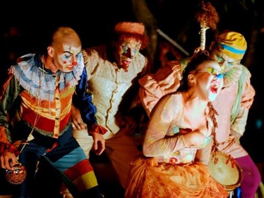 Circo - Pantalhaços terá 19 espetáculos a partir desta quarta-feira