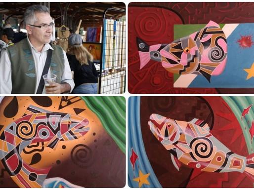Artes Plásticas – Isolado, Pedro Guilherme mostra sua arte via rede social