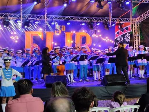 FLIB 2019 – Feira Literária é  aberta e  grande programação prossegue nesta quinta