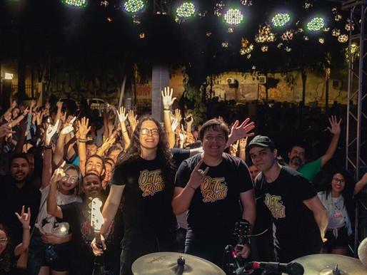 Praça do Rádio –  RockFolia com cinco bandas neste sábado