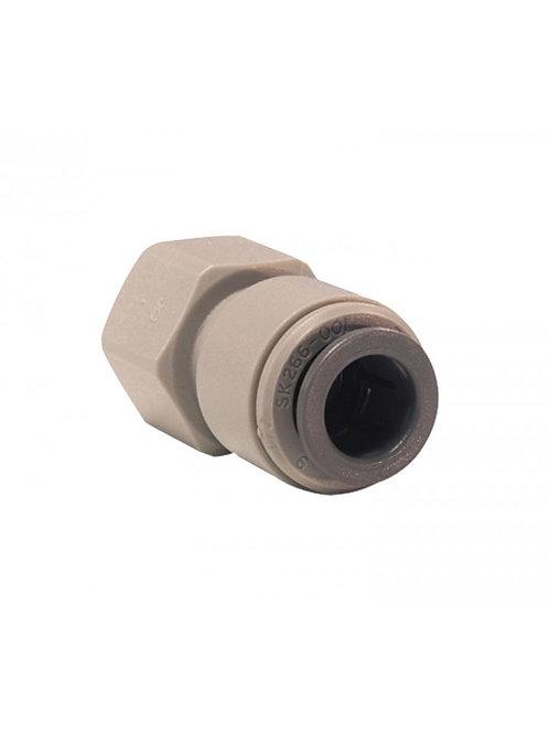 CONECTOR 3/8 PUSHFIT - Rosca 7/16 para grifo Doulton de una vía