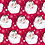 Thumbnail: Jolly Santas with Green on Reverse Side