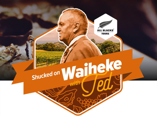 SHUCKED ON WAIHEKE WITH TED (Sir Graham Henry)