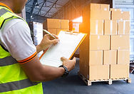Warehouse courier shipment transportatio