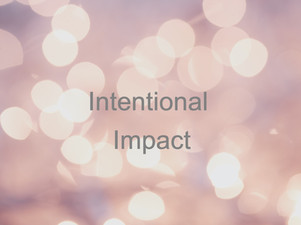 LEARN THE POWER OF YOUR IMPACT
