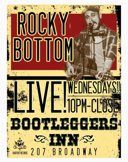 rocky bottom live at bootleggers in nashville tn