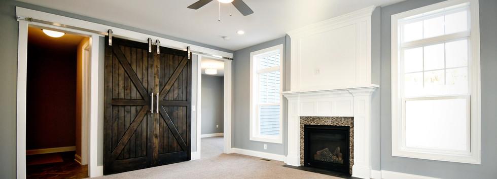 Barn Door in Great Room