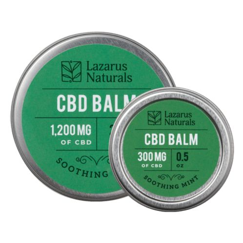 Soothing mint CBD balm 300mg, 0.5oz