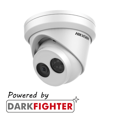 Hikvision 2MP fixed lens Darkfighter turret camera with IR
