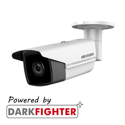 Hikvision 4MP fixed lens Darkfighter bullet camera with IR