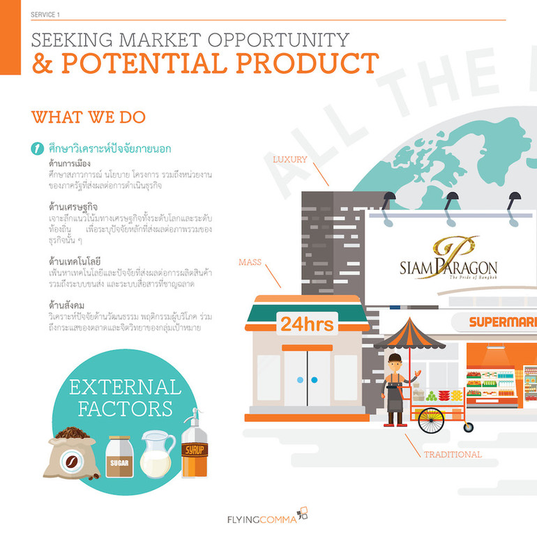 Seeking Market Opportunity and Potential Product