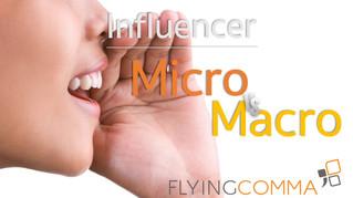 """Influencer"" Micro vs Macro"