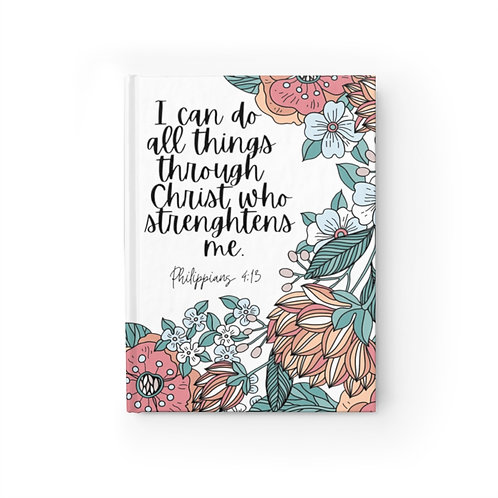 Motivational Journal with Philippians 4