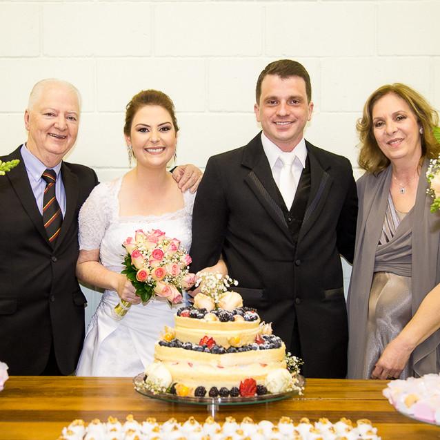 Família, festa de casamento, Quattro Fotografias