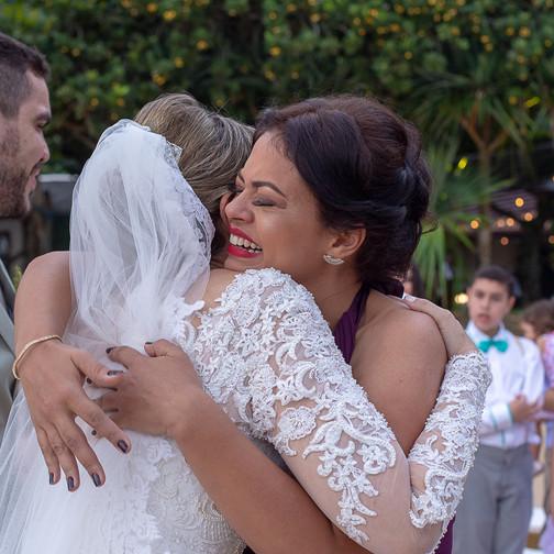 amigos, abraços, especial, casamento, quattro fototografias