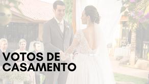 Votos de Casamento: palavras que contam uma história de amor