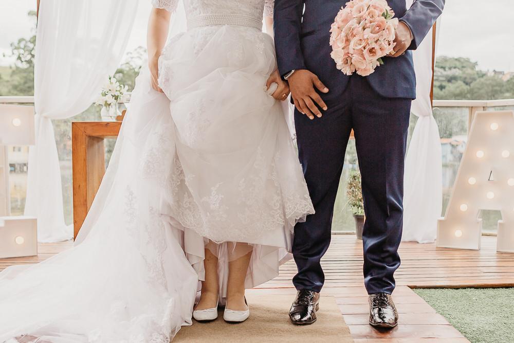 sapatos dos noivos